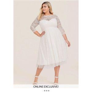Torrid wedding dress